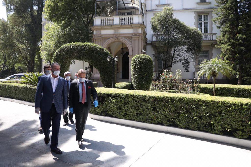 Quirino se reúne con el embajador de Rusia para asegurar adquisición de  vacuna COVID – Plataforma Noticias